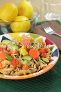 ארוחת ערב: סלט פסטה