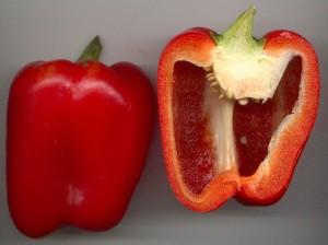 כמה ויטמין C יש בפלפל אדום  ?