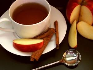 תה תפוחים טבעי