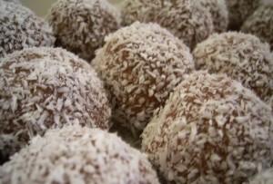 כדורי שוקולד לקטנטנים