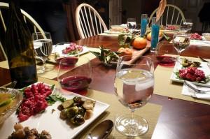לשמור על דיאטה בארוחת החג