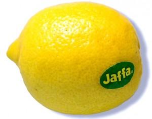 קליפה מגוררת מחצי לימון