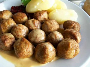 כדורי בשר עם ארטישוק ופטריות