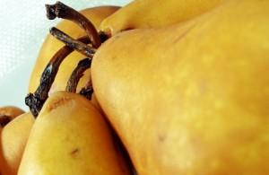 אגסים בשלים בגודל בינוני