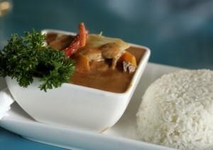 אורז ועוף בנוסח תאילנדי