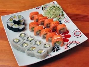 סושי יכול להיות אורגזמה קולינרית בלי הרבה קלוריות