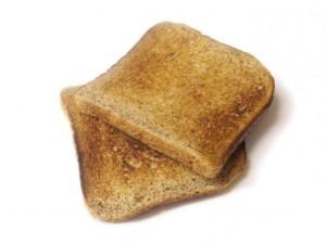 ארוחת ביניים: צנימים מ- 2 פרוסות לחם דגנים קל