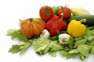 הדיאטה הים תיכונית מתבססת על המזונות הנפוצים באגן הים התיכון
